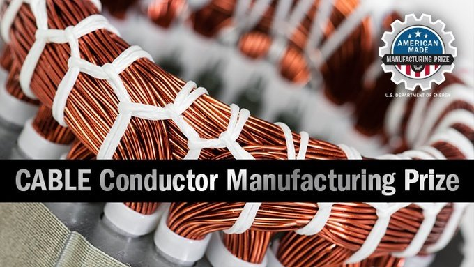 Cable conductor manufacturing prize banner