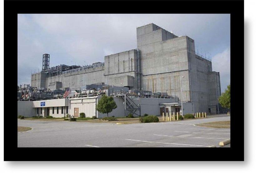 Large concrete building