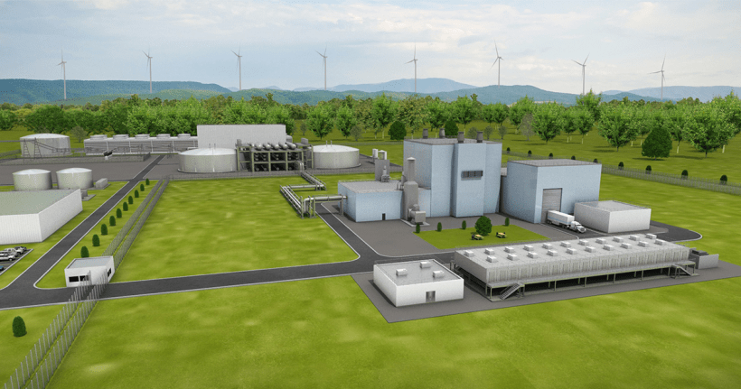 Next generation nuclear power plant by TerraPower.