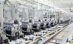 a photo of a manufacturing facility