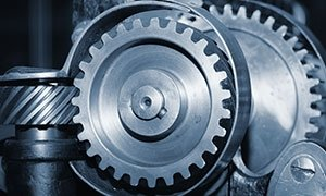 a photo of 3 gears