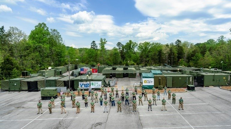 NNSA's Mobile Uranium Facility and the team that operates it.