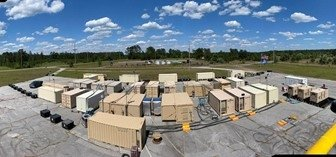 NNSA's Mobile Plutonium Facility during the Relentless Rook exercise at the Savannah River Site.