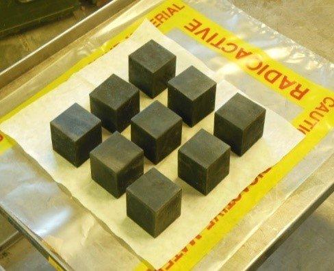 depleted uranium blocks