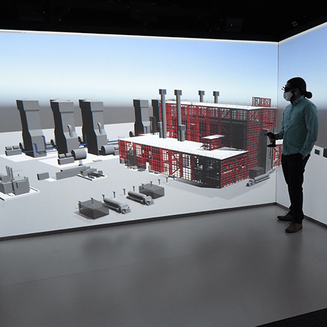 Virtual representation of Versatile Test Reactor