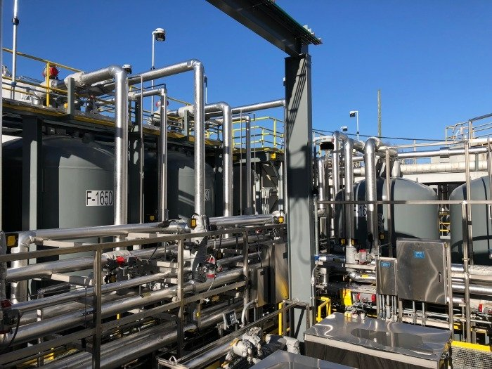 EM has invested more than $20 million to upgrade and extend the life of Liquid and Gaseous Waste Operations infrastructure. This waste treatment system, comprised of 60 facilities and 27 miles of piping, is critical to ongoing cleanup and research missions.