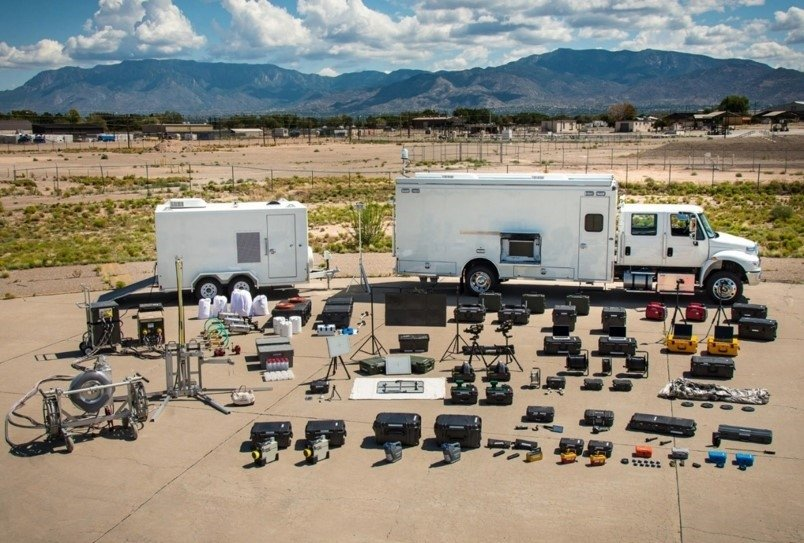 NEST equipment used by regional counter-WMD teams to characterize and defeat nuclear and radiological threat devices.