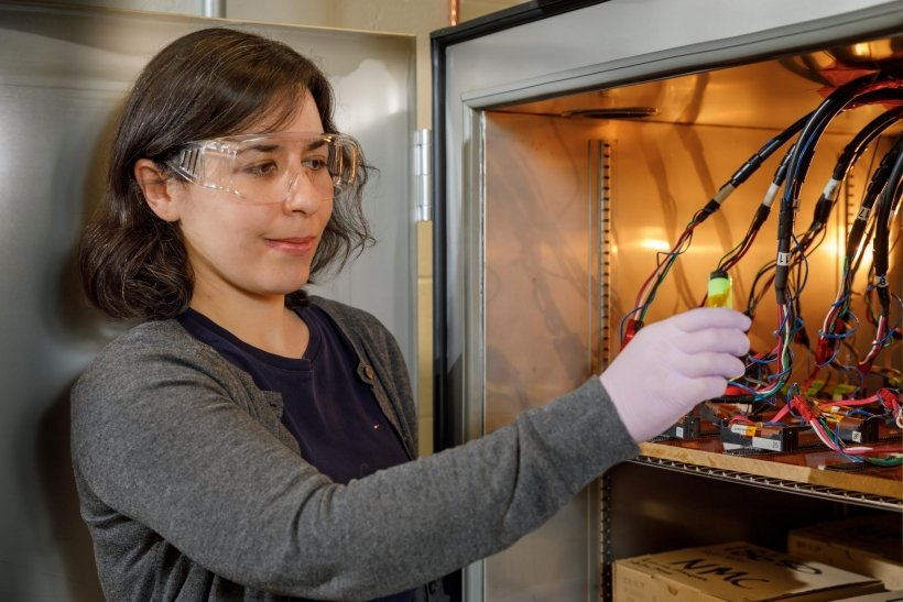 Dr. Yuliya Preger is a Senior Research and Development Chemical Engineer at Sandia National Laboratories in the Energy Storage Technology and Systems Group