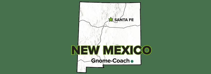Gnome-Coach, New Mexico, Site map.