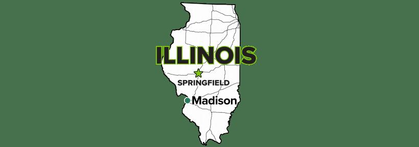 Madison, Illinois, Site map.
