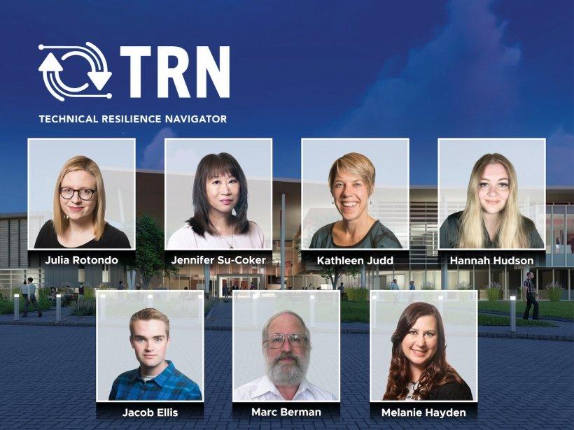 PNNL's TRN project team