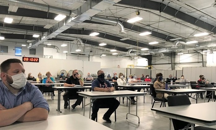 The Volpentest Hazardous Materials Management and Emergency Response (HAMMER) Federal Training Center, managed by contractor Hanford Mission Integration Solutions, delivered critical worker training throughout the COVID-19 pandemic.