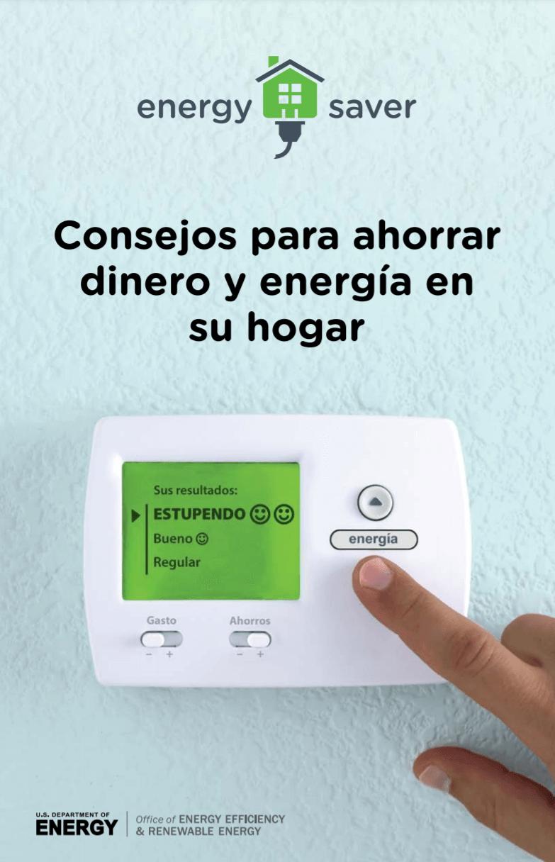 Consejos para ahorrar dinero y energia en su hogar