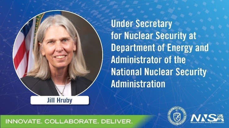 Administrator Hruby at INMM