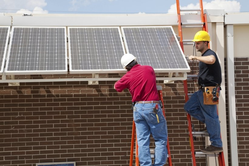 Professional installation of a photovoltaic system is highly recommended