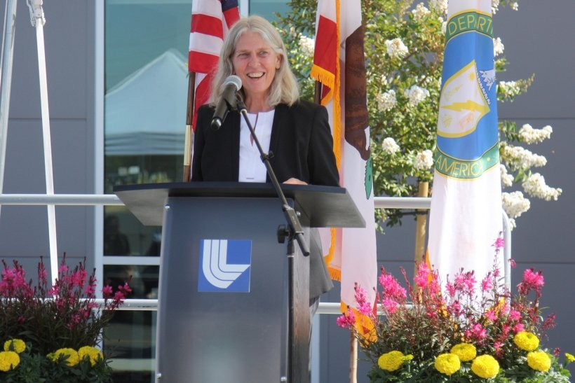"""NNSA Administrator Jill Hruby said that despite the pandemic and staying at home, """"most of us draw energy from the people around us"""" so meeting places like the LVOC are beneficial."""