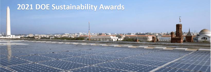 2021 DOE Sustainability Awards