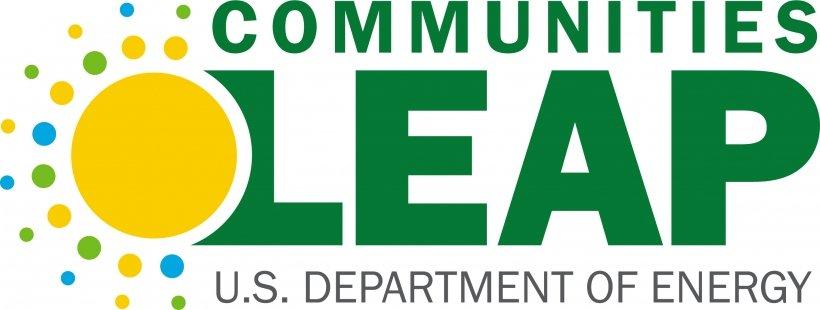 Communities LEAP logo, US Department of Energy