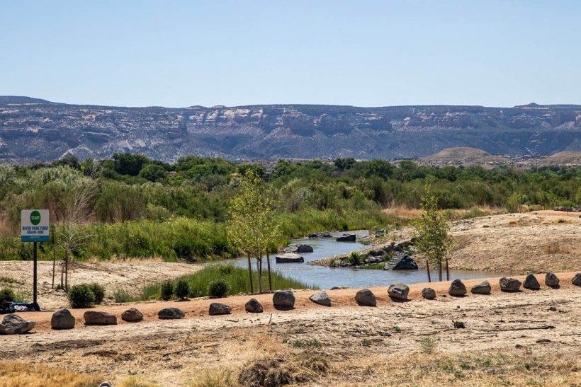 Las Colonias River Park in Grand Junction, Colorado.
