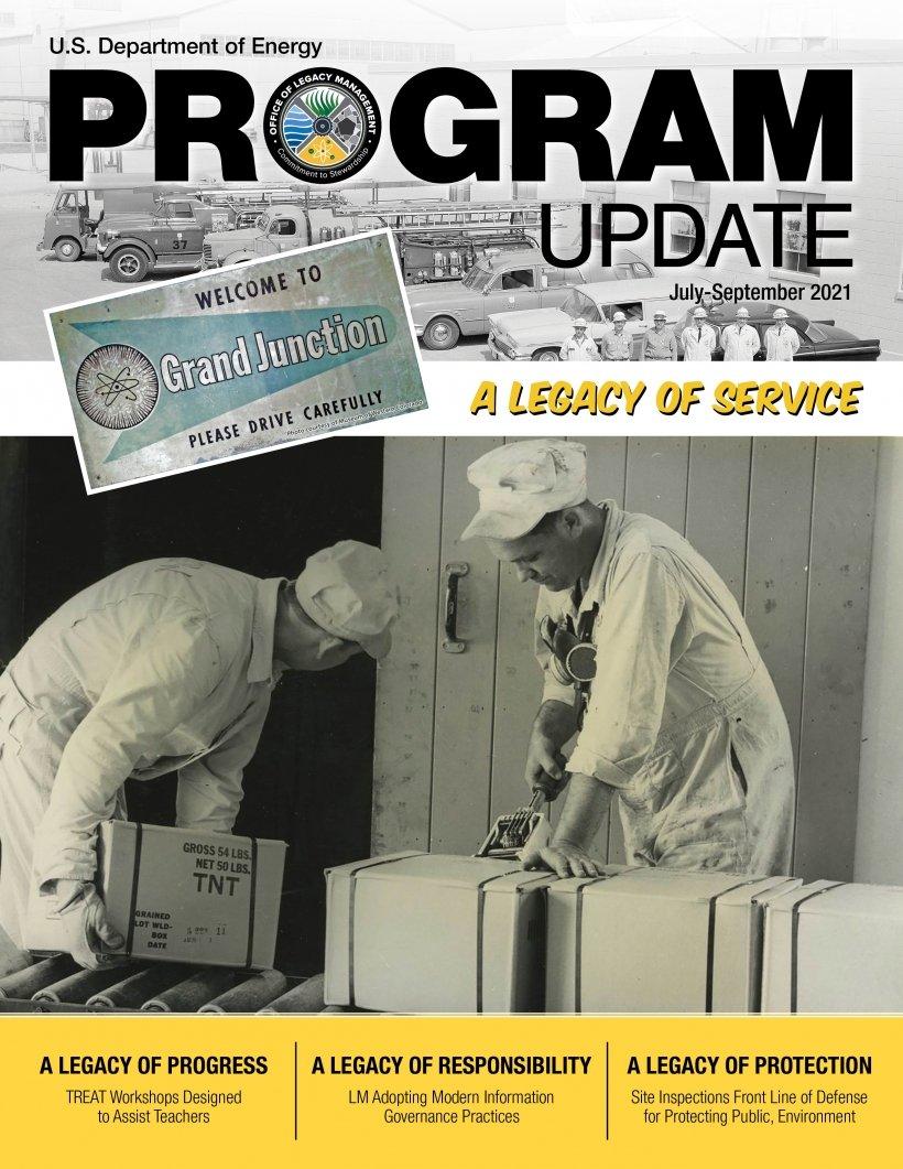 Program Update: July-September 2021 Program Update newsletter