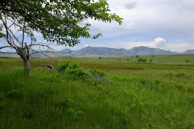 The post-cleanup Rocky Flats Site is seen in a photo taken June 11, 2007.