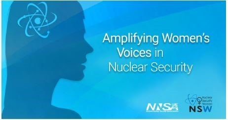 Logo from women's side event at 2021 IAEA GC