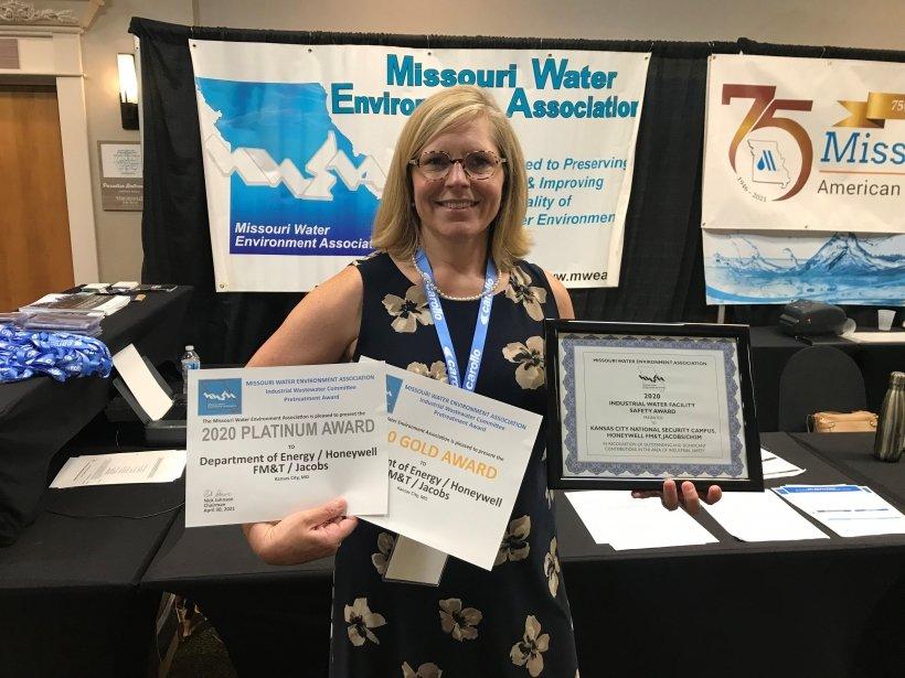 KCNSC wins awards