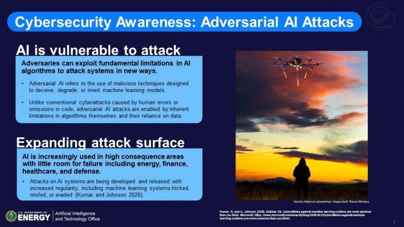 Cybersecurity Awareness presentation slide