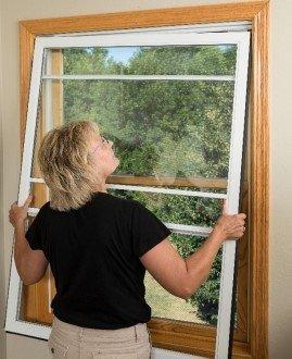Installing an interior storm window
