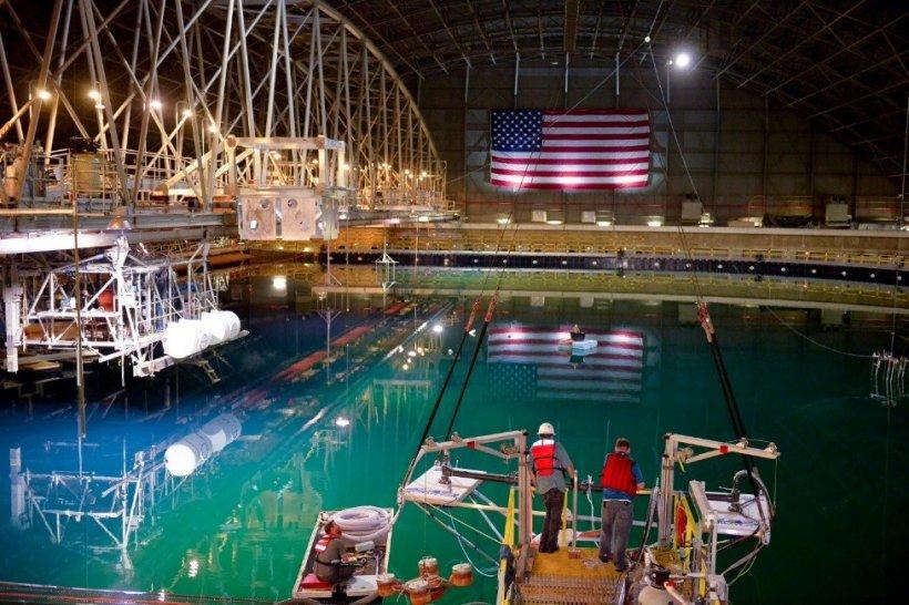 Waver energy test site.