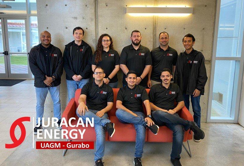 Photo of the Juracan Energy team.