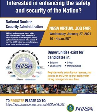 Banner image for January 2021 Job Fair