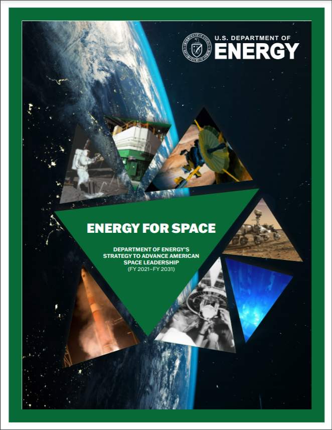 Energy for Space Report Cover