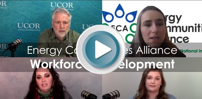 View this video to learn more about UCOR's virtual presentation to the Energy Communities Alliance and its partnerships and programs that help prepare the next-generation workforce at Oak Ridge.