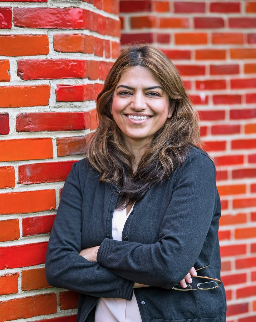 Fatima Ebrahimi has a  Ph.D. in plasma physics from the University of Wisconsin-Madison, with a focus on fusion, and works at the DOE's Princeton Plasma Physics Laboratory.