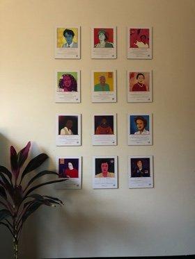 gallery of portraits of #WomenInSTEM