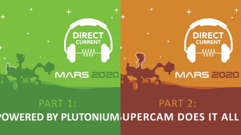 Mars Perseverance Landing Podcasts