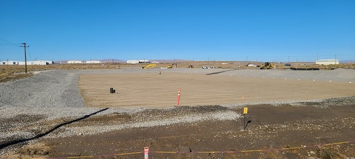 EM tank operations contractor Washington River Protection Solutions last fall completed installation of an evapotranspiration basin, which will collect and evaporate water drained from a high-density,