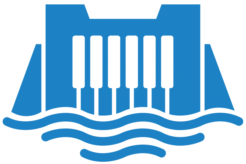 Illustrated icon for Hydropower Energy.