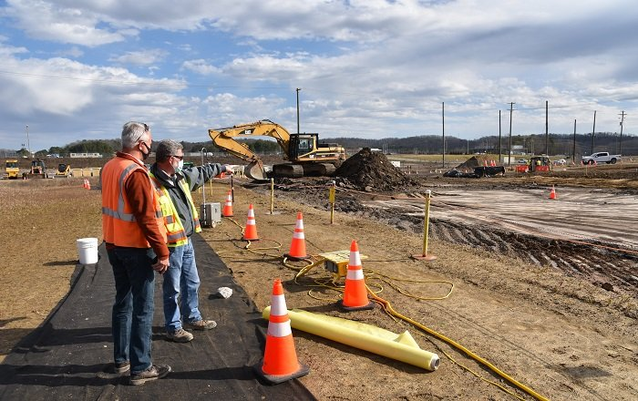 An emerging issues team that's part of a regulatory partnership framework focused on the Oak Ridge EM program's cleanup helped obtain early approvals for soil removal projects, allowing effective use of the available workforce and funding.