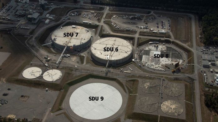 Savannah River Remediation, EM's liquid waste contractor at the Savannah River Site, continues to make progress on the next Saltstone Disposal Units being constructed to support the Salt Waste Processing Facility.