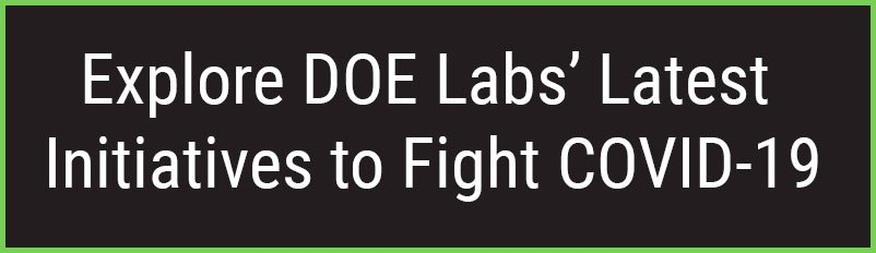 button for DOE Lab COVID-19 Initiatives