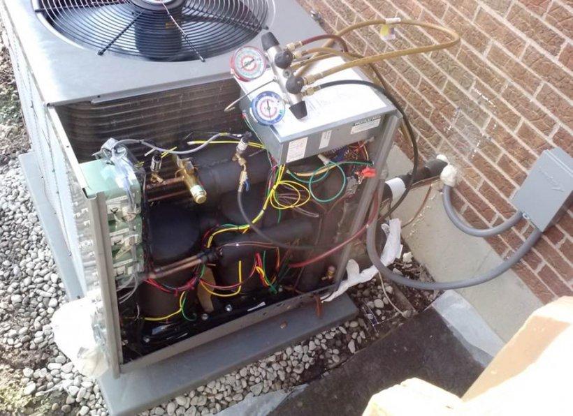 Cold climate heat pump.