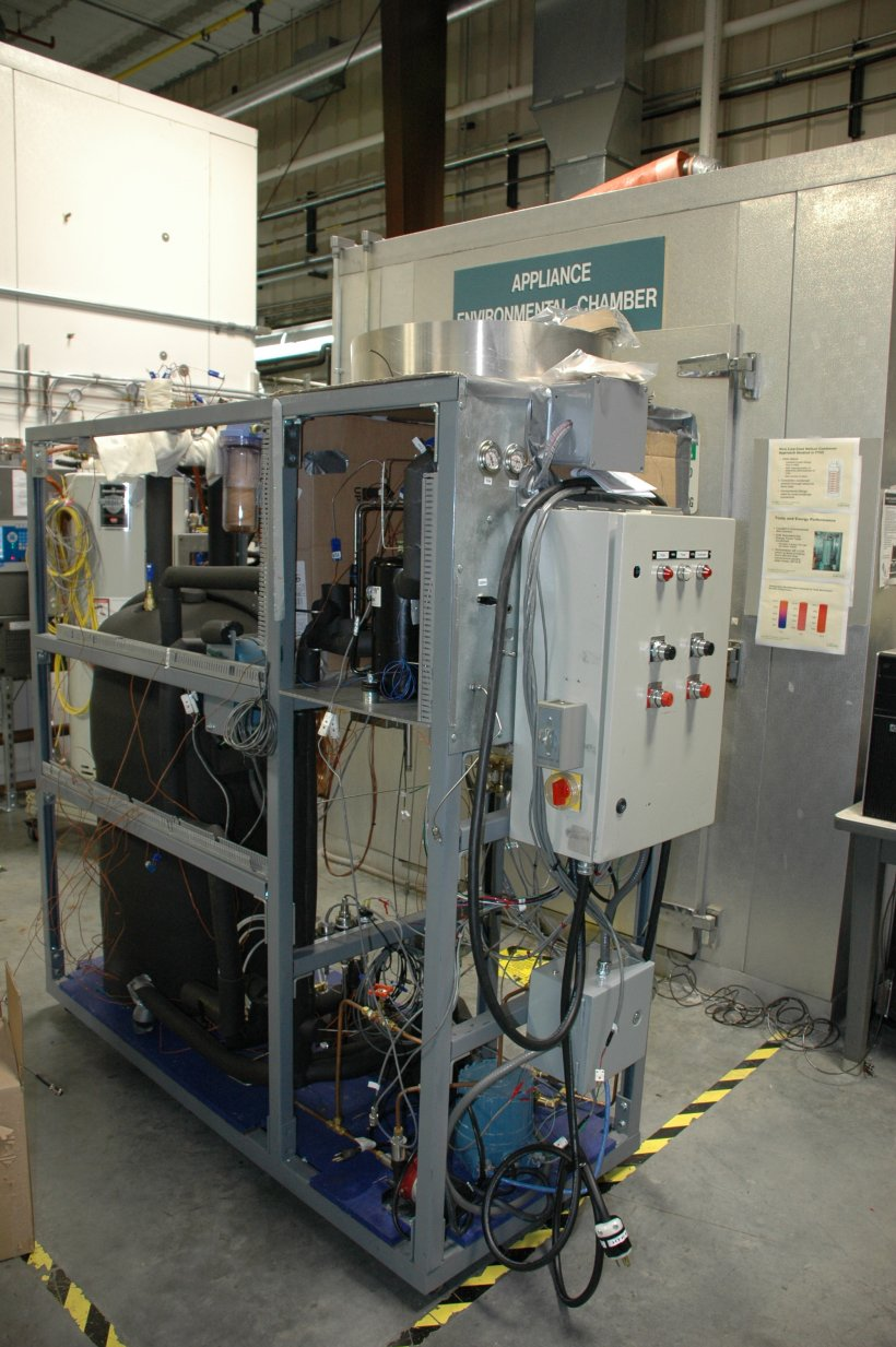 CO2 Heat Pump Water Heater Prototype.