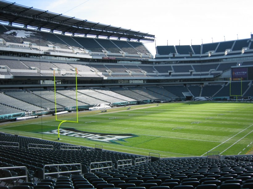 Photo of Lincoln Financial Field, home of the Philadelphia Eagles.