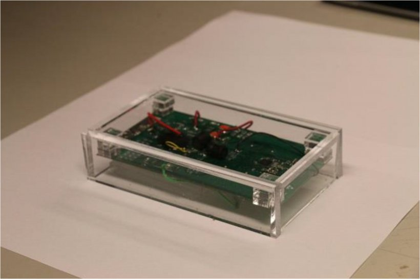 Self-powering wireless sensor node.