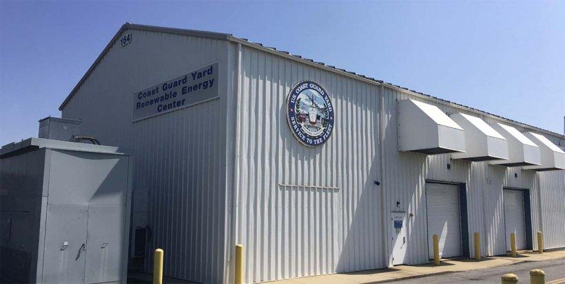 Coast Guard Yard Renewable Energy Center