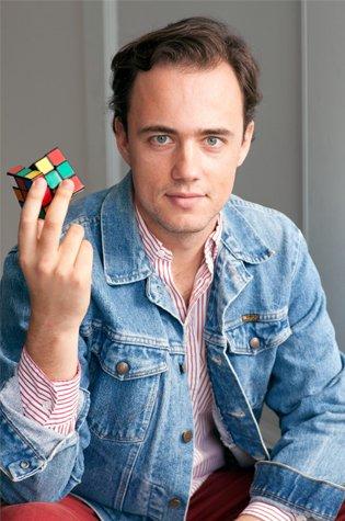 Ian Scheffler is an author and a Rubik's speedcuber.