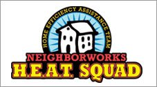 Neighborworks Heat Squad logo.
