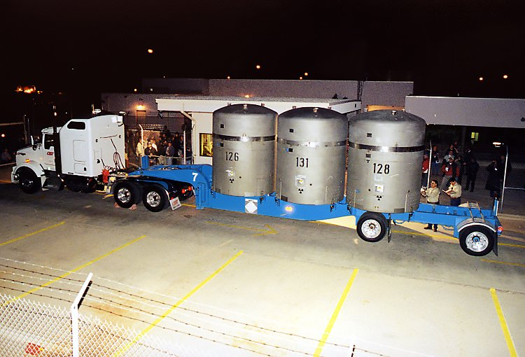 January 23, 2007: WIPP receives first shipment of waste.